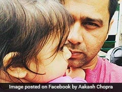 Fans Laud Aakash Chopra For Response On Daughter