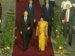 Russian President Vladimir Putin Arrives In India: Highlights