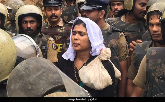 Arrested Kerala Activist Who Almost Reached Sabarimala Suspended By BSNL