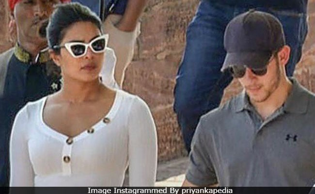 Priyanka Chopra And Nick Jonas Spotted At Jodhpur's Mehrangarh Fort. Internet Suspects They Are Wedding Venue Scouting