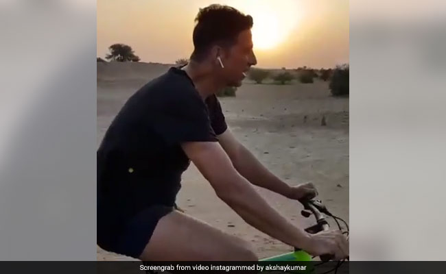 Akshay Kumar Shared The Most Lit Workout Video On Instagram. See It To Believe It