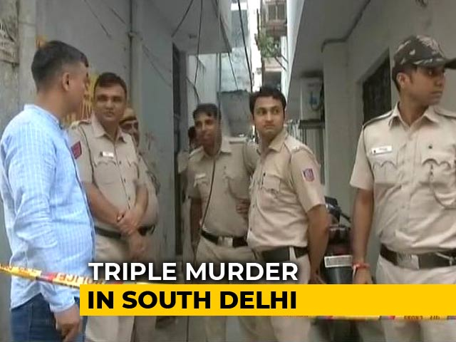 Video : Couple, Daughter Found Dead In South Delhi Home; Injured Son Questioned