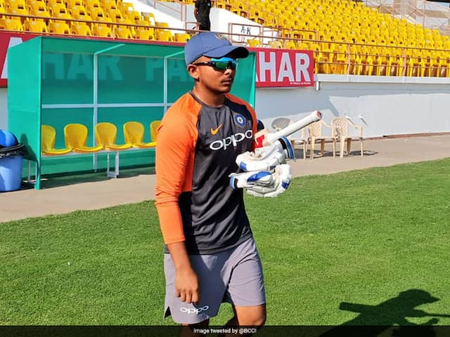 India vs Windies: Prithvi Shaw Included As Cricket Board Breaks Mould To Announce 12-Man Squad For First Test