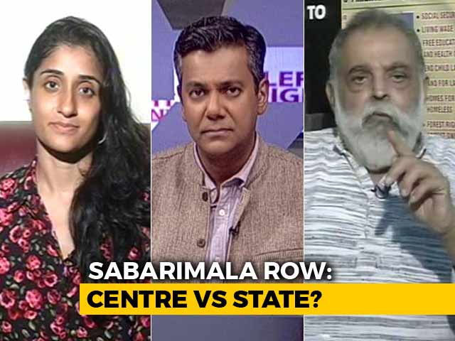 Video : Sabarimala Row: Rituals Part Of Right To Religion?