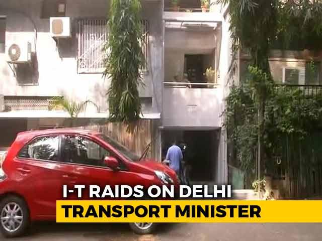 Video : Tax Officials Raid 16 Premises Linked To Delhi Minister Kailash Gahlot