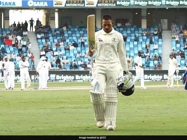 1st Test: Ton-Up Usman Khawaja Helps Australia Save Draw Against Pakistan