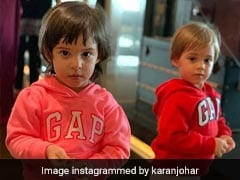Karan Johar's '<I>Kuch Kuch</I> Munchkins' Roohi And Yash Look Super Adorable
