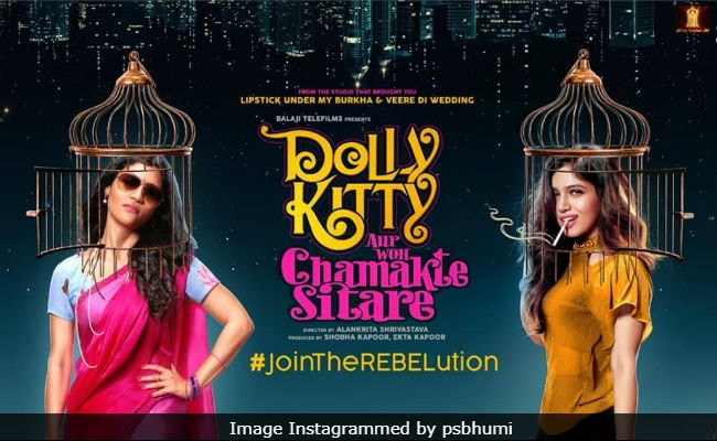 Dolly Kitty Aur Woh Chamakte Sitare Poster: Konkona Sen Sharma And Bhumi Pednekar 'Join The Rebelution'
