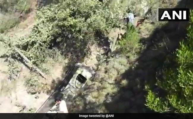 20 Killed After Bus Falls Into Gorge On Jammu-Srinagar Highway