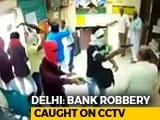 Video : 6 Armed Men Loot Rs. 3 Lakh, Kill Cashier In Delhi Bank. CCTV Captures All