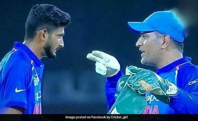 Lucky to Get the chance to play under MS Dhoni captainship: khaleel ahmed