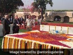 UN Chief Hails Mahatma Gandhi's Principle Of Non-Violence