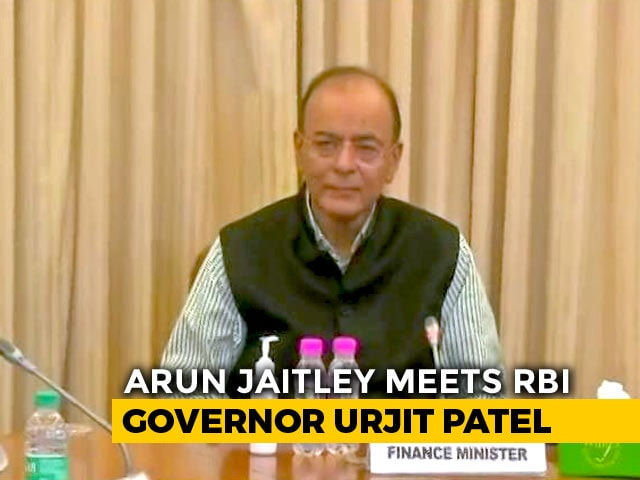 Video : Arun Jaitley, RBI Chief Face-To-Face As Rift Is Out In Open