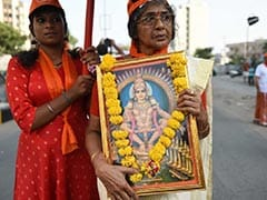 Amid Protests, Women To Trek To Sabarimala, First In Centuries: 10 Facts
