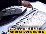 Video : Court Reserves Order On Plea To Check Duplicate Voters In Madhya Pradesh