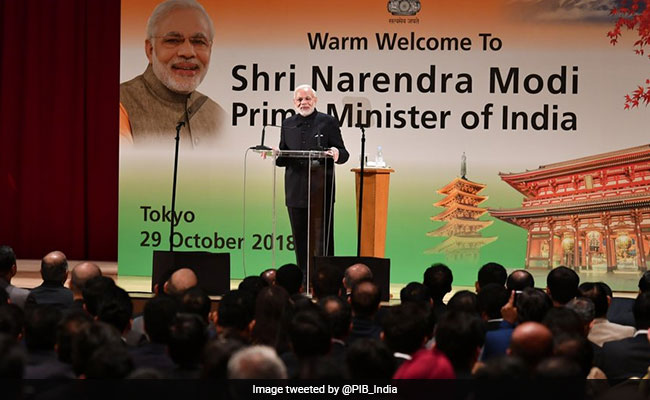 'You're Like Diwali Lamps Spreading Light': PM Modi To Indians In Japan