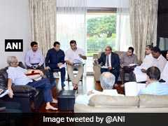 Manohar Parrikar Chairs Meet At Home, Minister Says He Is In Good Health