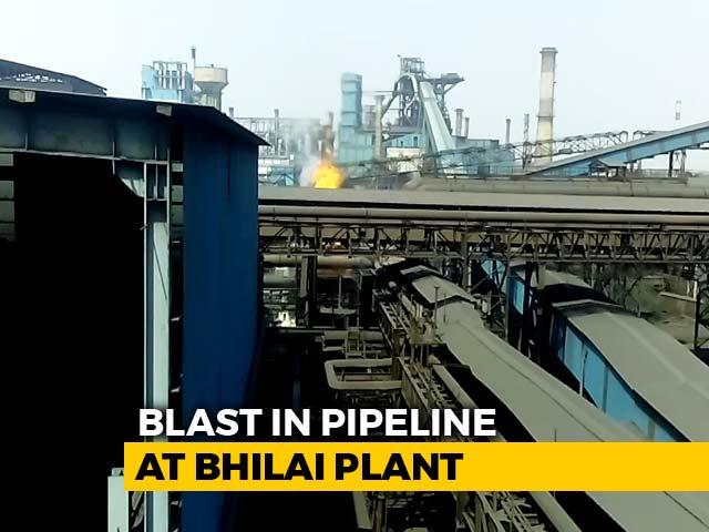 Video : 9 Dead, 14 Injured In Gas Pipeline Blast At Bhilai Steel Plant