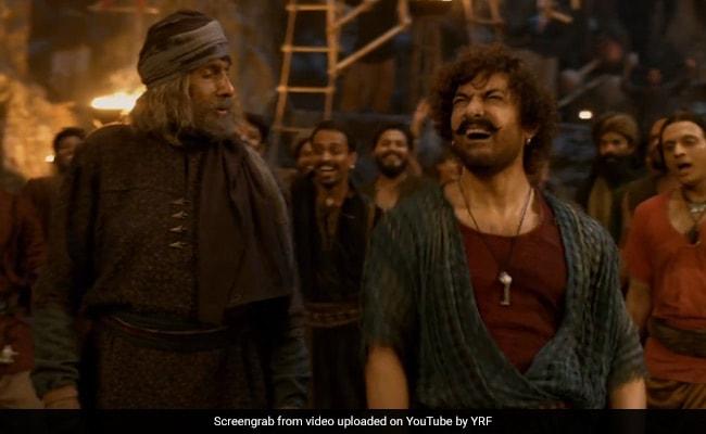 Thugs Of Hindostan: अमिताभ बच्चन और आमिर खान हुए नशे में चूर, 26 लाख बार देखा गया Vashmalle