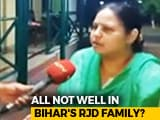 "Video : ""Yes, Tejashwi and Tej Pratap Are Fighting,"" Lalu's Daughter Lets Slip"