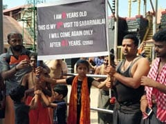 On Her Third Visit To Sabarimala, 9-Year-Old Says Next Will Happen In 2058
