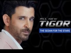Actor Hrithik Roshan Will Be The Brand Ambassador For The Upcoming Refreshed Tata Tigor