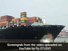 Ship Hits Jetty At Jawaharlal Nehru Port Near Mumbai