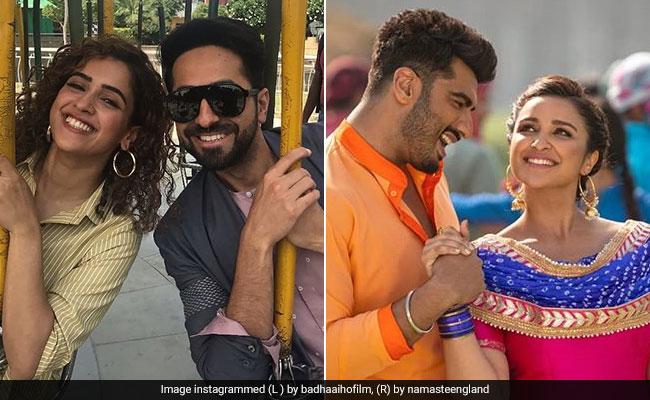 Badhaai Ho Box Office Collection Day 4: रॉकेट की तरह कमा रही 'बधाई हो', फुस्सी बम निकली 'नमस्ते इंग्लैंड'