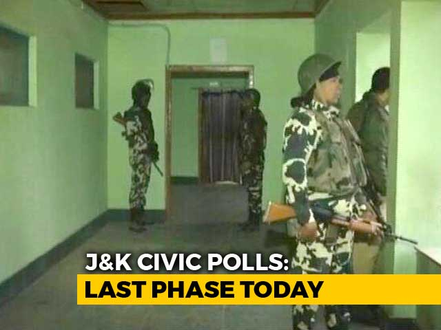 Video : Last Phase Of Jammu And Kashmir Civic Body Polls Today