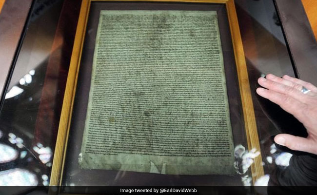 Man, Armed With A Hammer, Tried To Steal Famous Magna Carta Document