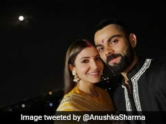 "Virat Kohli Has An Adorable Message For His ""Universe"" Anushka Sharma On Karva Chauth"