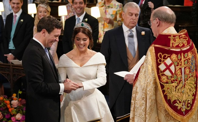 Princess Eugenie Marries Wine Merchant At Second Big Royal Wedding In UK