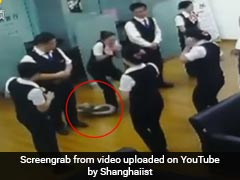 Watch: 5-Foot Python Falls From Ceiling During Staff Meeting In China