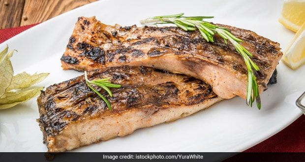Grilled Surmai Steak