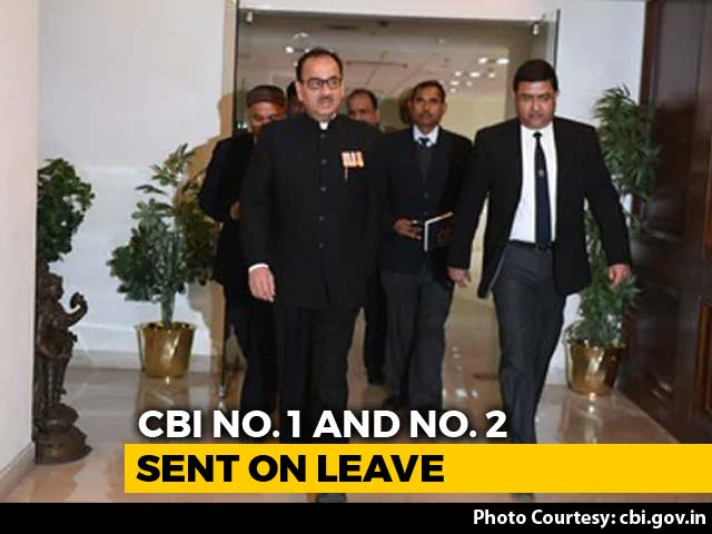 Video : CBI Chief Sent On Leave; Supreme Court Hears His Case On Friday