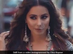 Hina Khan Says Playing Komolika In <i>Kasautii Zindagii Kay 2</i> Is 'Not A Risk'