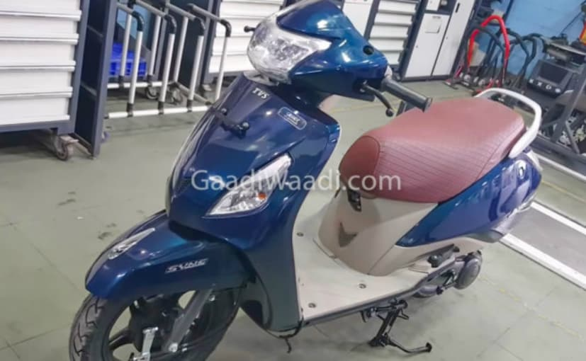 The TVS Jupiter Grande has been spotted at dealerships ahead of launch
