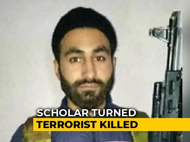 Video : Research Scholar-Turned-Hizbul Terrorist Killed In Kashmir Encounter