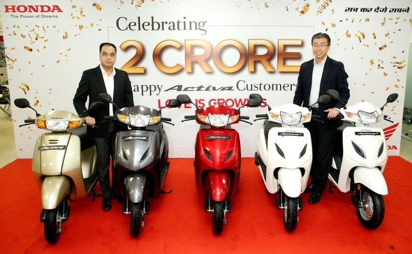 The Honda Activa is now the first scooter in India to breach the historic 2 crore sales mark