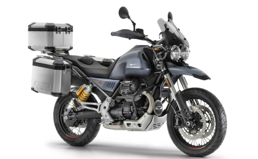 The Moto Guzzi V85 TT is expected to debut soon