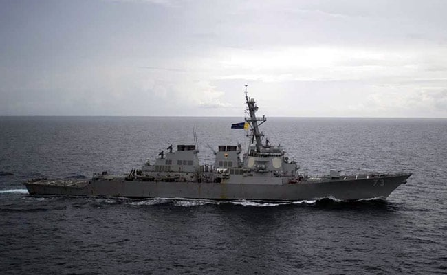 In South China Sea, US, Chinese Warships Came Within Yards Of Each Other