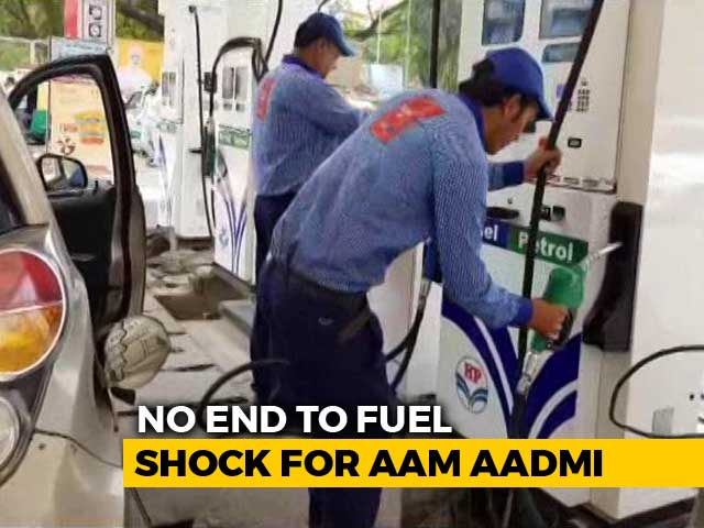 Video : Fuel Prices Continue To Rise: Petrol Rate Reaches 91.08 Rupees In Mumbai