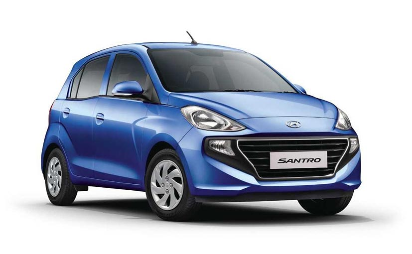 New Hyundai Santro: Variants Explained