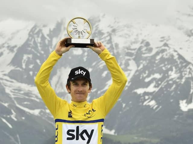 Geraint Thomas Tour de France Trophy Stolen