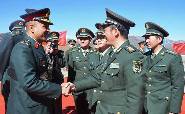 Armies Of India, China Hold Military Border Personnel Meeting