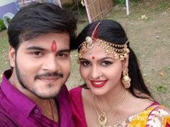 भोजपुरी जोड़ी चांदनी सिंह-कल्लू का नवरात्र पर धमाल, 'सलोनी के मम्मी' Video हुआ वायरल
