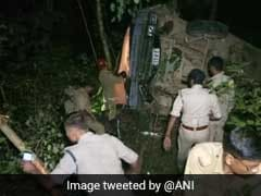 13 Tripura State Rifles Soldiers Injured As Bus Falls Into Gorge