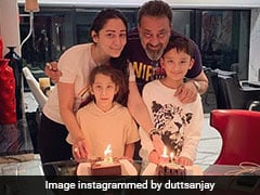Inside Sanjay Dutt And Maanyata's Twins Sharaan And Iqra's Birthday Party In Dubai