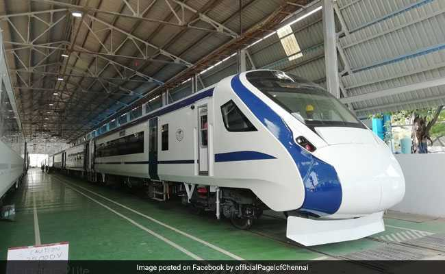 Train 18, India's First Engine-Less Train, Makes Debut On Tracks