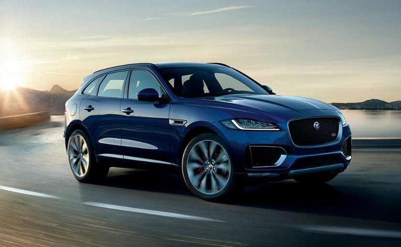 2019 Jaguar F Pace Petrol Launched In India Priced At 63 17 Lakh